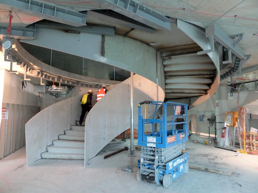 samsung spiral stairs